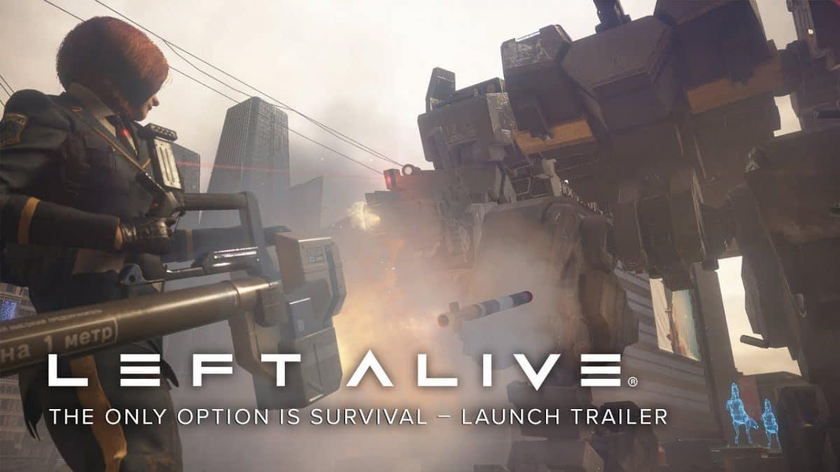 รีวิวเกมส์Left Alive เกมส์สงครามแห่งการเอาชีวิตรอด